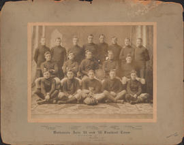 Photograph of Dalhousie Arts '13 and '15 Football Team