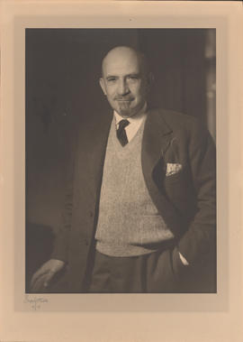 Chaim Weizmann : [photograph]