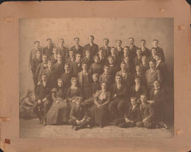 Photograph of the Bachelor of Arts graduating class of 1903