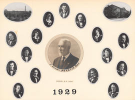 Composite Photograph of the Faculty of Medicine - Class of 1929