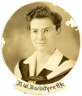 Portrait of Mary Wheeler MacIntyre : Class of 1939
