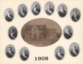 Composite Photograph of the Faculty of Medicine - Class of 1908