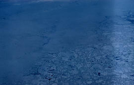 Photograph of ice in Frobisher Bay