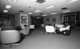 Photograph of a lounge in the Dalhousie Arts Centre