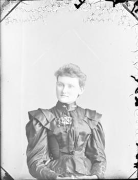 Photograph of Miss C. A. Grant