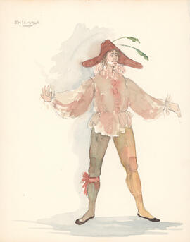 Costume design for ensemble : man