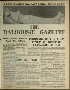 The Dalhousie Gazette, Volume 92, Issue 10