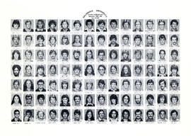 Composite photograph of the Faculty of Medicine - First Year Class, 1981-1982