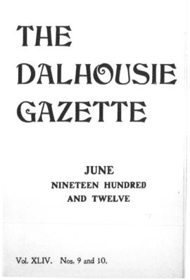 The Dalhousie Gazette, Volume 44, Issue 9-10