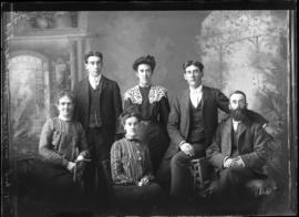 Photograph of Mr. W.J. Maxwell and family