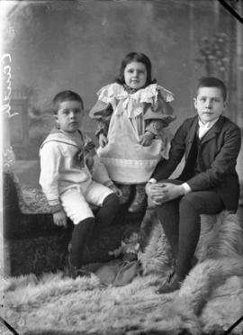 Photograph of Mrs. Cantley's children