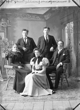 Photograph of Cunningham family