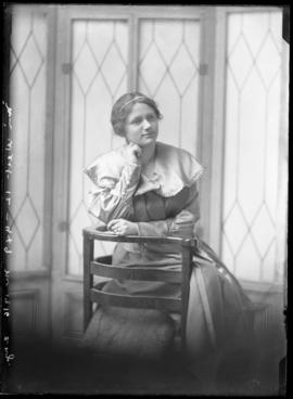 Photograph of Miss Jean West