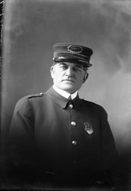 Photograph of Joseph Francis the Chief of Police for New Glasgow