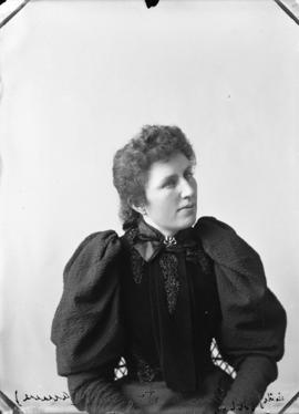 Photograph of Miss Annie McDonald