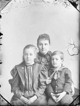 Photograph of Mrs. McGregor and her children