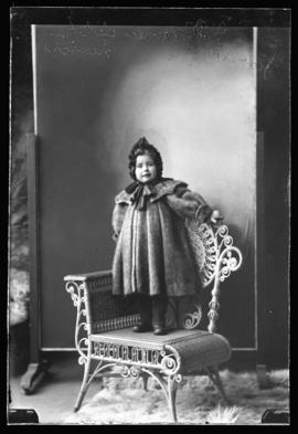 Photograph of the child of Mr. J.D. Fraser