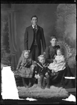 Photograph of Mr. James H. Rundle and his family
