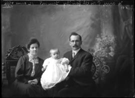 Photograph of Harry Powell & Family