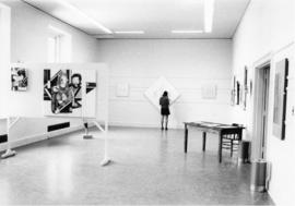 Photograph of art exhibit at the Dalhousie Art Gallery
