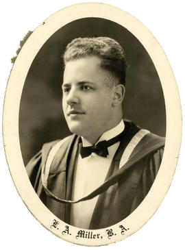 Portrait of Leonard Albert Miller : Class of 1930