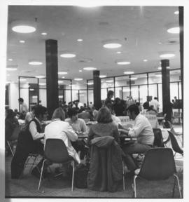 Photograph of the Student Union Building cafeteria