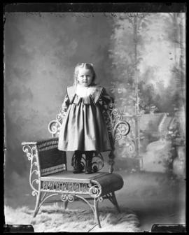 Photograph of the daughter of Rev. E.J. Rattie