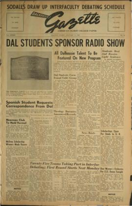Dalhousie Gazette, Volume 84, Issue 22