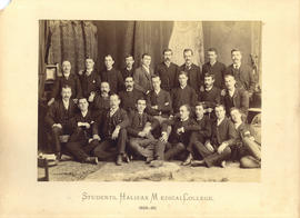 Photograph of Halifax Medical College students, 1889-1890