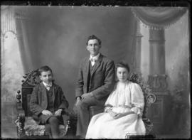 Photograph of John McQuarrie & others