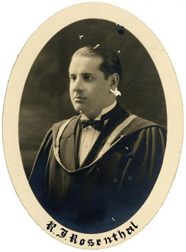 Portrait of Ralph Jack Rosenthal : Class of 1926