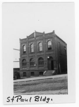 Photograph of the exterior of St. Paul building on Sackville Street in Halifax Nova Scotia