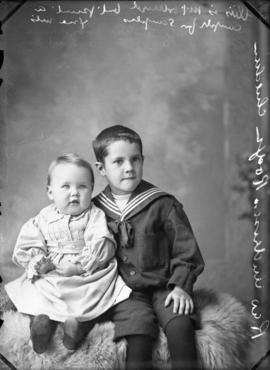 Photograph of Rev. Anderson Rogers' children
