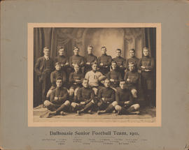 Photograph of Dalhousie Senior Football Team, 1911
