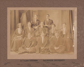 Photograph of the Dalhousie University class officers of 1911