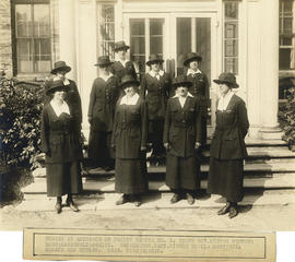 Photograph of Massachusetts-Halifax Health Commission public health nurses