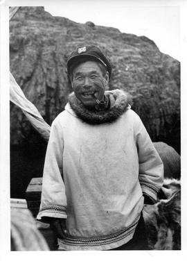 Photograph of Henry Annatok in Port Burwell, Northwest Territories