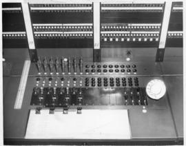 Photograph of the automatic telephone exchange in Summerside Prince Edward Island
