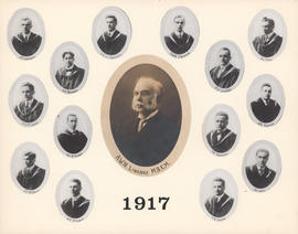 Composite Photograph of the Faculty of Medicine - Class of 1917
