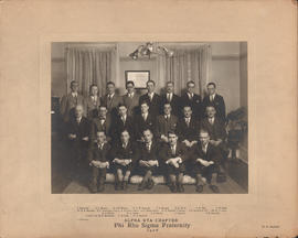Photograph of Phi Rho Sigma Fraternity : Alpha Eta Chapter