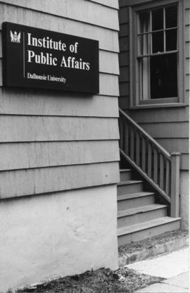 Photograph of the Institute of Public Affairs house