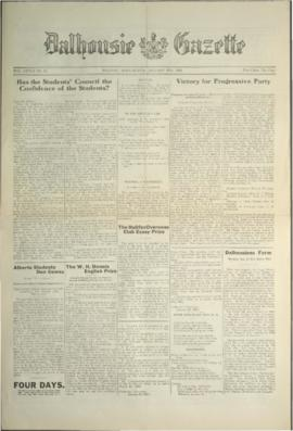 Dalhousie Gazette, Volume 58, Issue 11