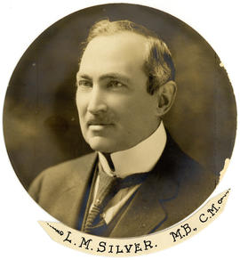 Portrait of Louis Morton Silver