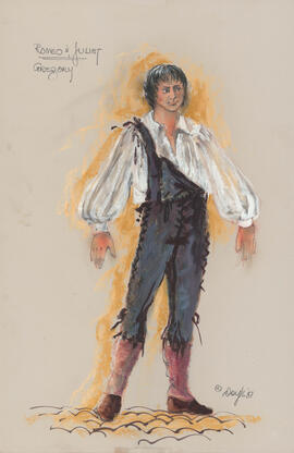 Costume design for Gregory