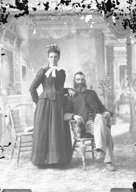 Photograph of Mr. and Mrs. James McDonald