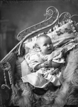 Photograph of John Marshall's baby