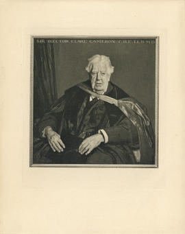 Portrait of Sir Hector Clare Cameron