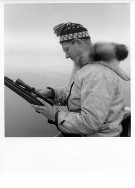 Photograph of Bob Green in Frobisher Bay, Northwest Territories