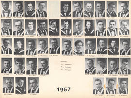 Composite photograph of the Faculty of Medicine - Class of 1957
