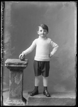 Photograph of the son of Mrs. Frampton
